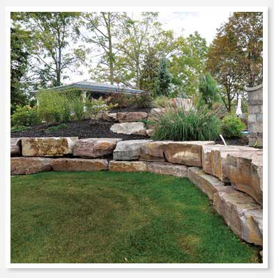 landscaping rocks new plymouth garden landscaping rocks